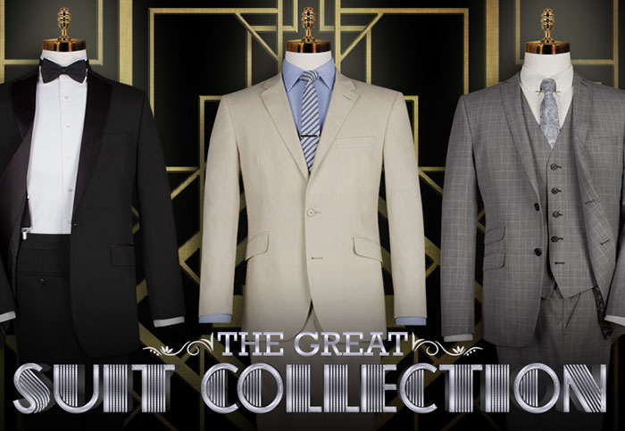 The Great Gatsby Suit Collection