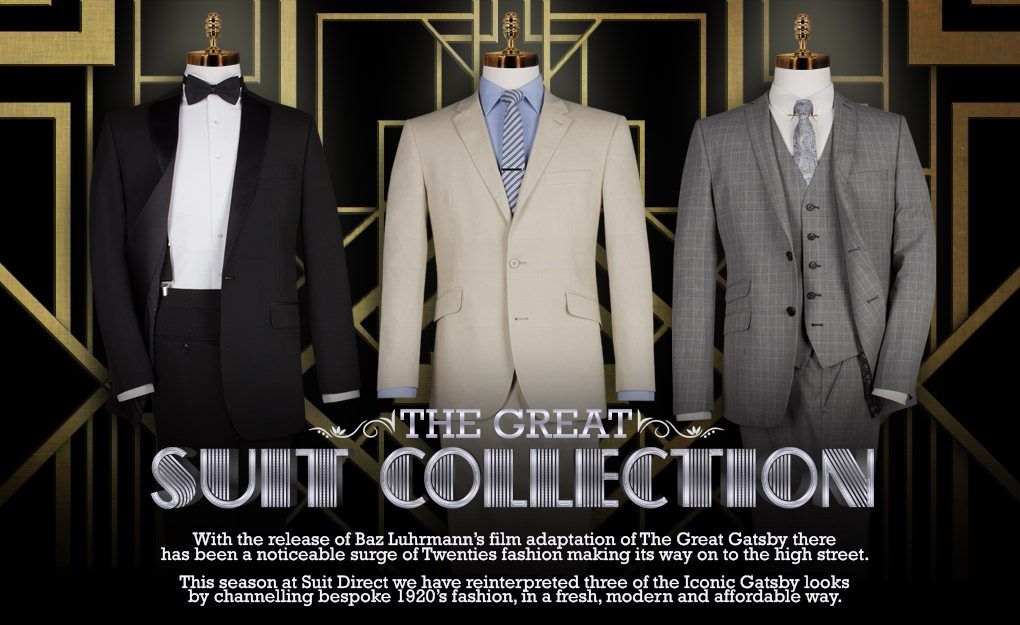 Get The Great Gatsby Look Tuxedos And Suits Suit Direct